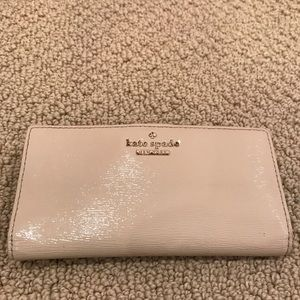 Kate spade tan/cream wallet